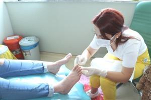 Samsun'da açık yaralara 'larva' tedavisi