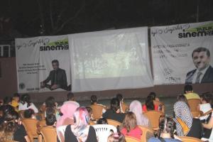 Son dakika haberleri… Yağlıdere'de çocuklar için açık hava sineması etkinliği düzenlendi