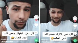 """Suriyeli genç, """"Bavulunu topla"""" yorumuna oynayarak yanıt verdi: Biz sizi göndereceğiz"""