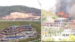 Tekzip: 'Titanic Otel, 2007 Yılında Güvercinlik'te Çıkan Yangın Alanında İnşa Edilmemiştir'