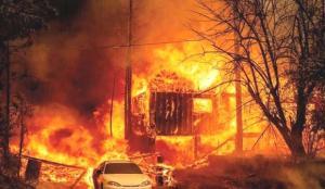 Yunanistan'daki yangın felaketi büyüyor