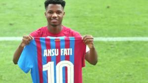 Barcelona'da Lionel Messi'den sonra 10 numaralı forma Ansu Fati'ye verildi