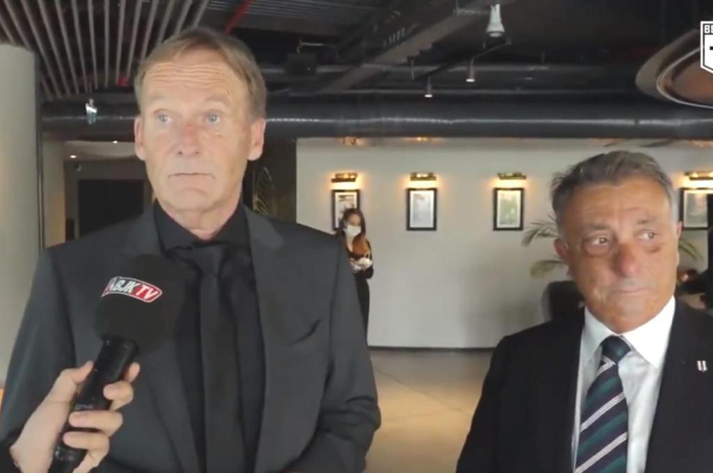 Dortmund Başkanı Hans Watzke endişeli: İstanbul'da olmak güzel ama Beşiktaş'la oynamak değil