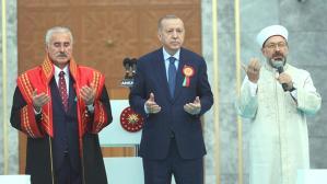 """Fahrettin Altun'dan Yargıtay binasının dualı açılış törenine gelen eleştirilere """"Atatürk""""lü yanıt"""