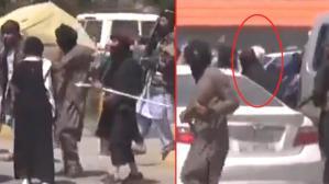 Taliban'ın başkent Kabil sokaklarındaki protestocu kadınları kırbaçladıkları görüntüler ortaya çıktı