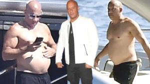 Vin Diesel'i gören şaştı kaldı! Eski halinden eser yok