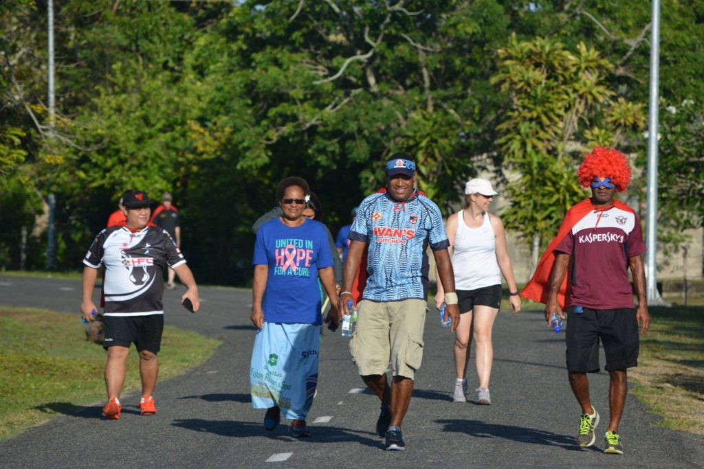 WOWS Kids Fiji 8km walk-a thon to fundraise and support kids