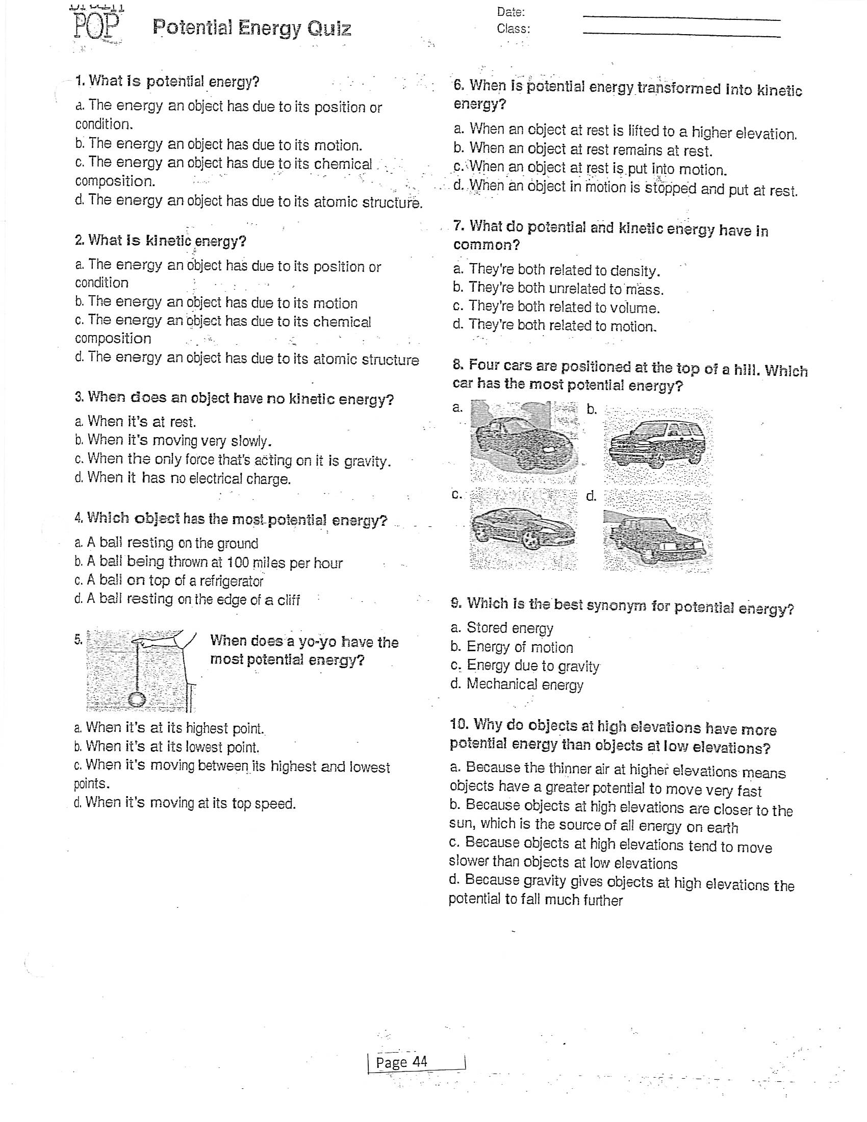 Jacobs Dawn Science Term 4