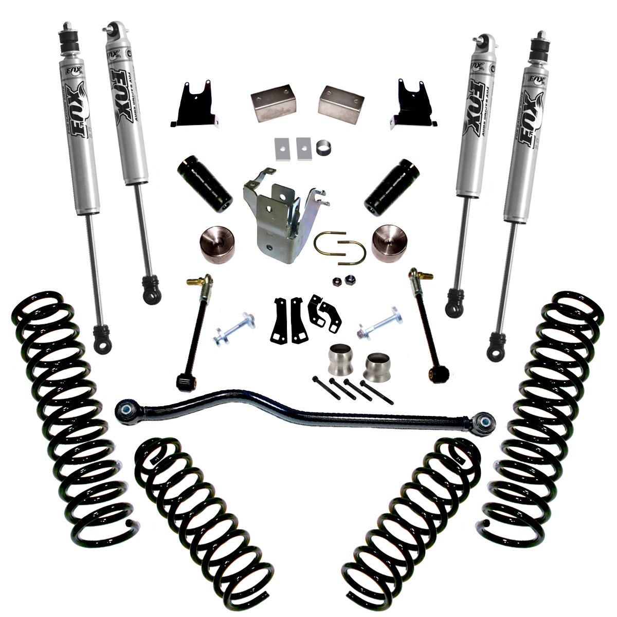 Superlift 4 Lift Kit With Fox Shocks For Jeep