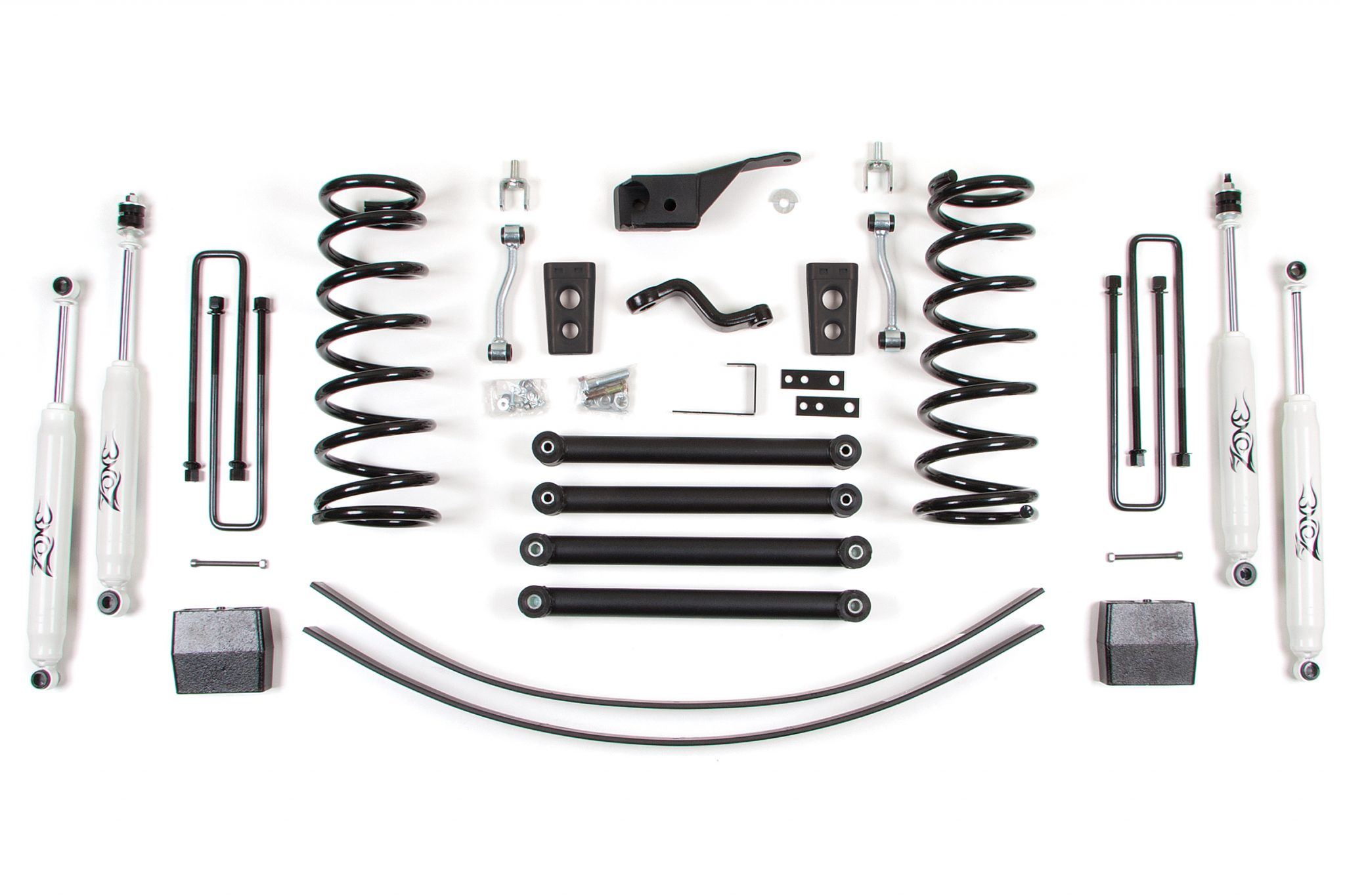 Zone Offroad 5 Coil Springs Lift Kit Dodge Ram