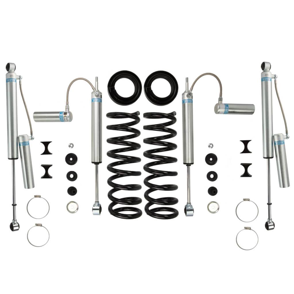 Bilstein 2 Front 0 1 Rear Lift Shocks 13 18 Ram 4wdsel