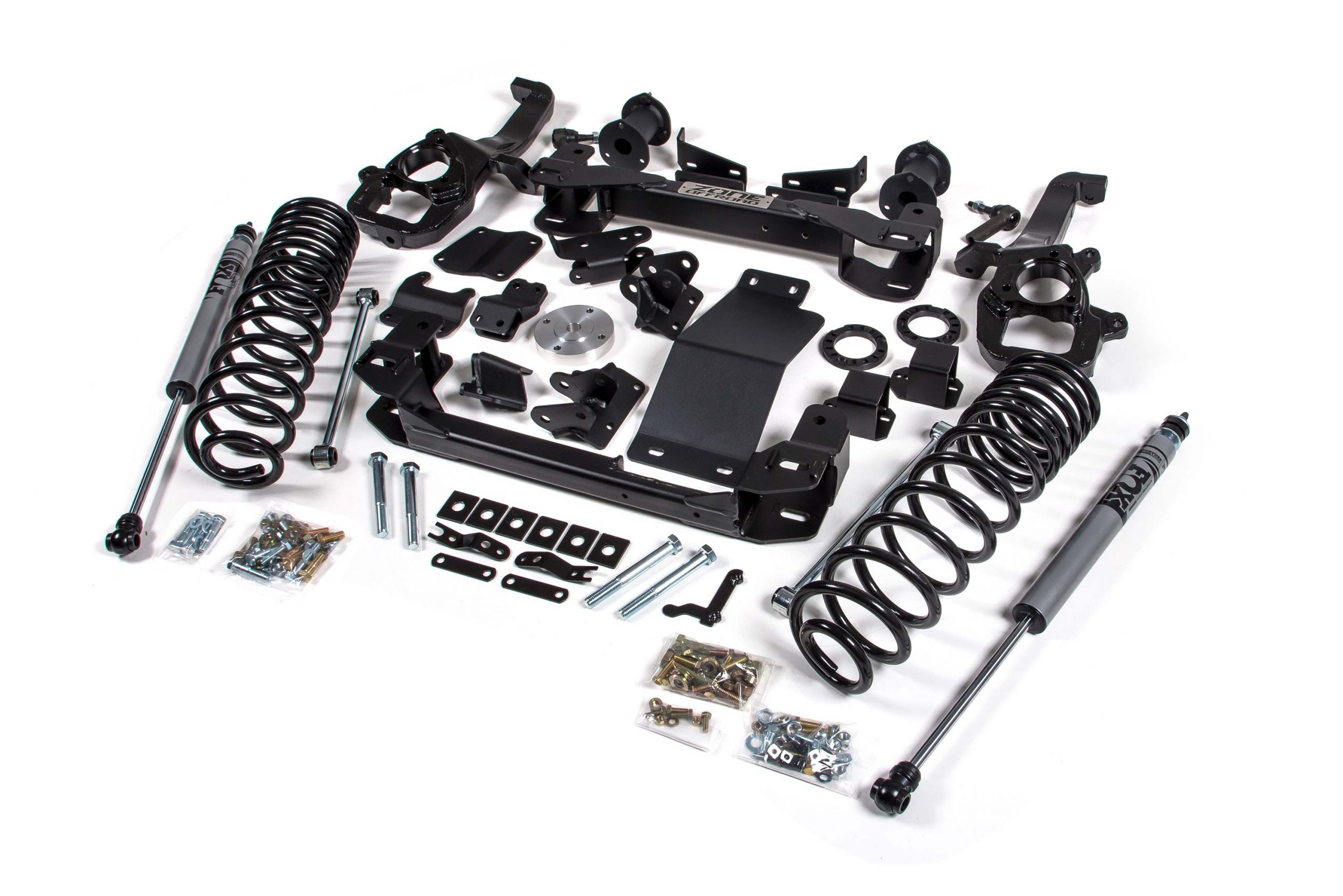 Zone Offroad 6 Lift Kit For Ram Amp Rebel 4wd