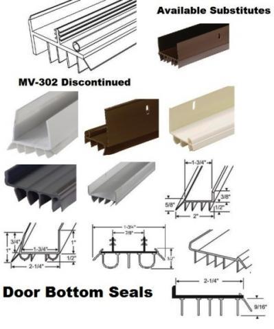 door sweeps door bottom weather strip