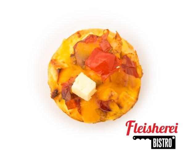 Chicken & Peppedew Mini Quiches - Fleisherei Bistro