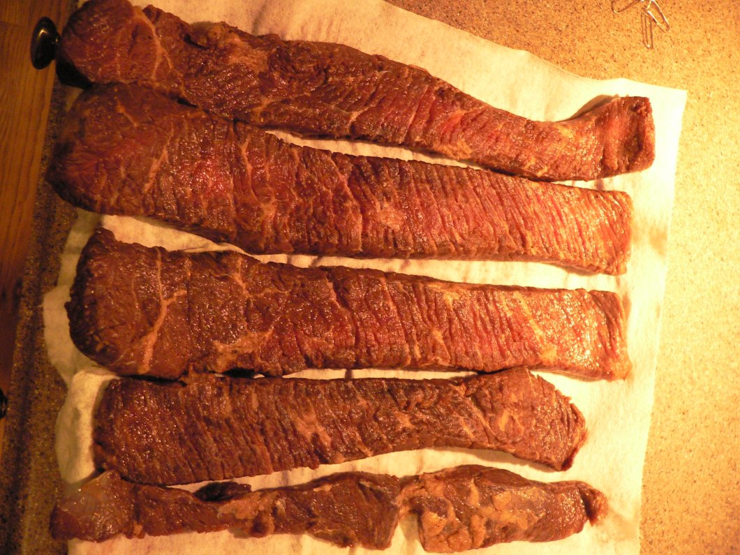 how to make ostrich biltong