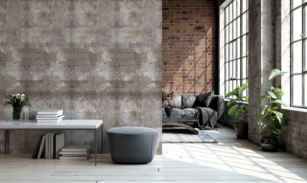 effet du beton brut sur votre mur