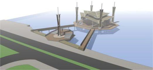 Inilah rencana masjid terapung yang ditolak Komisi III.