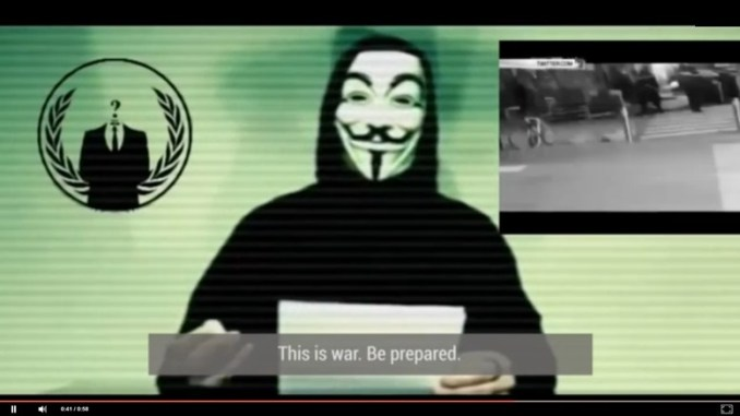 Video Anonymous Lawan ISIS