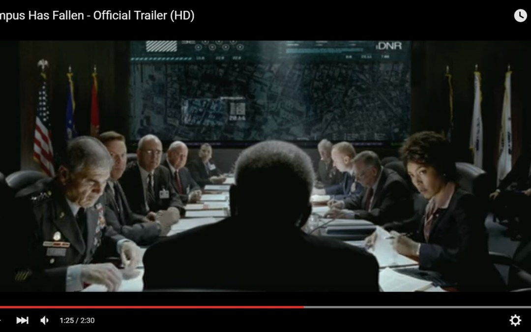 Olympus Has Fallen Film Trailer