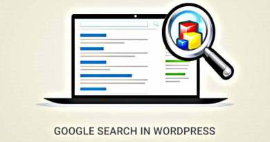 Google Custom Search Engine Wordpress