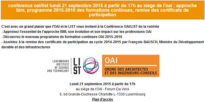 OAI conference 2015-2016