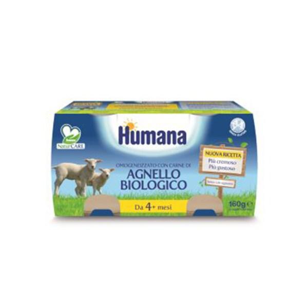 Humana Agnello Biologico 2x80g