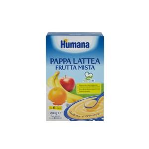 Humana Pappa Lattea Frutta Mista