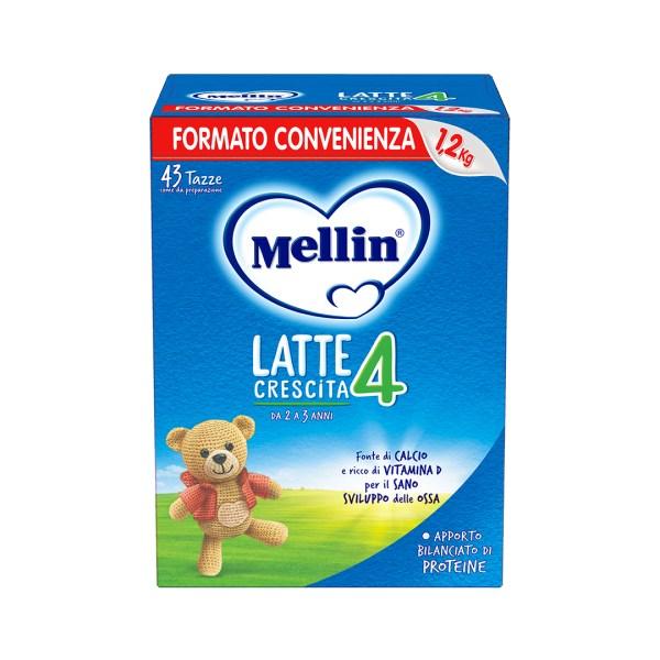 Mellin 4 Latte in Polvere 1200g