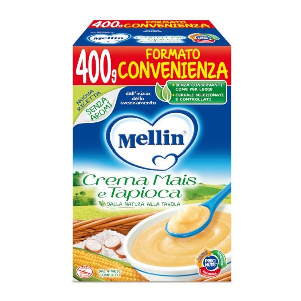 Mellin Crema di Mais e Tapioca 400g