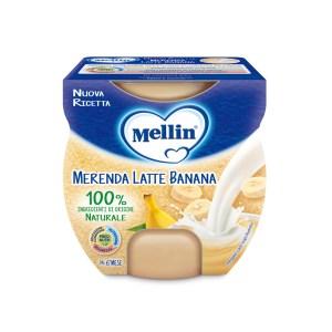 Mellin Merenda Latte Banana 2x100g