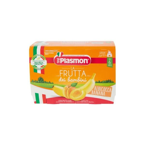 Plasmon La Frutta Dei Bambini Albicocca Banana 4x100g