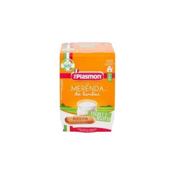 Plasmon La Merenda Dei Bambini Biscotto Yogurt 2x120g