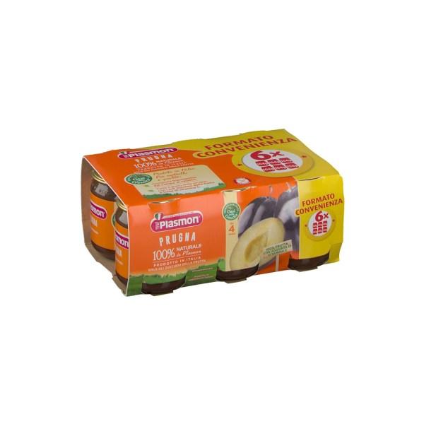 Plasmon Omo Frutta Prugna 6x104g