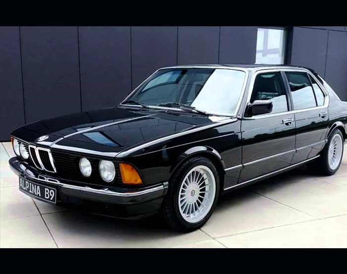 BMW 7 Series E23 Indonesia
