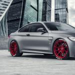 Frozen Gray Modded M4 Rolling On Candy Apple Red V Ff 102s Bimmerfest Bmw Forum