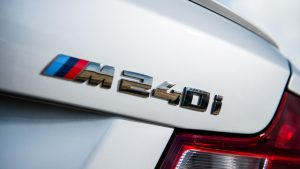 M240i trunk badge