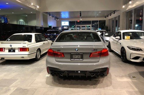Even More BMW F90 M5 In Individual Colors – Lime Rock Grey