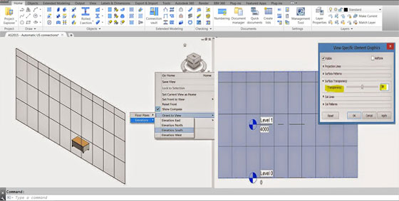Revit Transparency in Elevation or Section Views | BIM Outsourcing