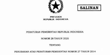 Bimtek Pengelolaan Barang Milik Daerah (PP No. 28 Tahun 2020)