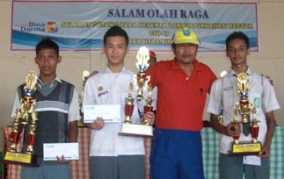 Kejuaraan Futsal Dan Volley Antar SMA Merebut Piala Rektor