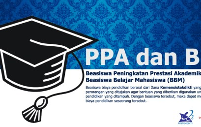 Pendaftaran Calon Penerima Beasiswa PPA dan BBB-PPA