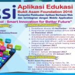 Lomba Aplikasi Edukasi (AKSI) Bukit Asam Foundation 2016