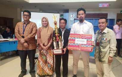 Prodi Akuntansi Juara Umum BDRT 2018