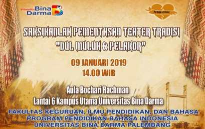 Pargelaran Teater Prodi Bahasa Indonesia