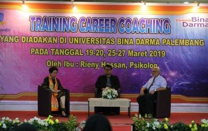 Universitas Bina Darma Mengadakan Seminar Career Coaching