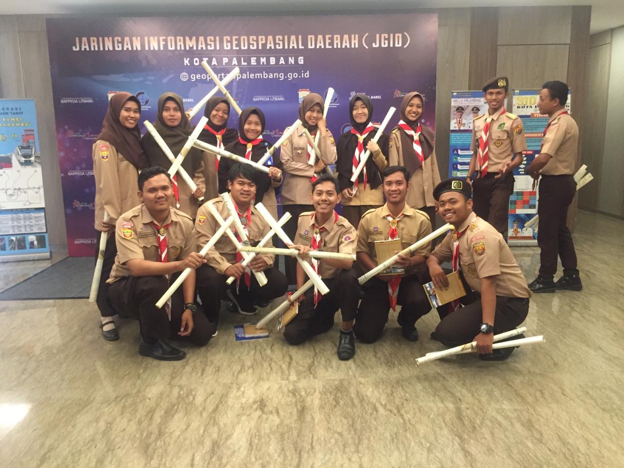 Partisipasi Racana Universitas Bina Darma dalam kegiatan  JIGD kota Palembang