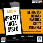 Updating Data Sisfo Mahasiswa