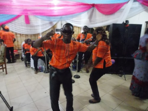 Bina Foundation Musical Band Public Performance during NUJ award night