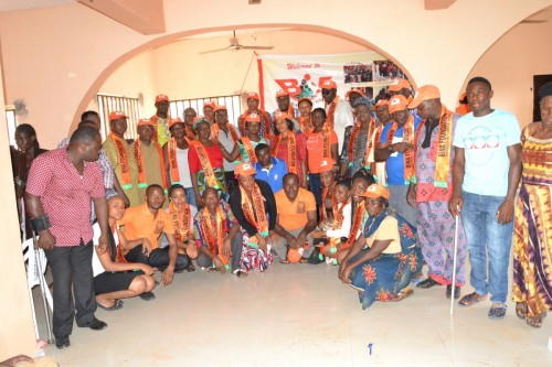 Bina Foundation with Nnewi Centre Volunteers