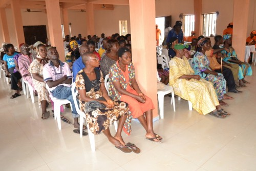 Cross section of special needs persons to be trained by Bina